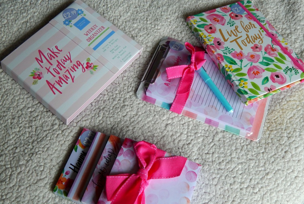 Aldi stationery haul