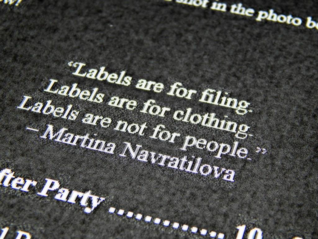 Label ethos