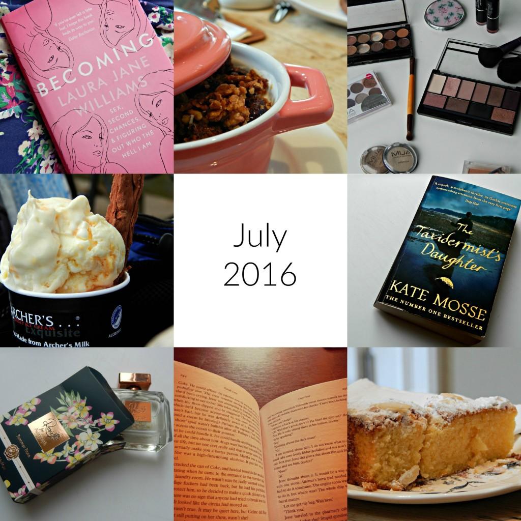 July 2016 roundup