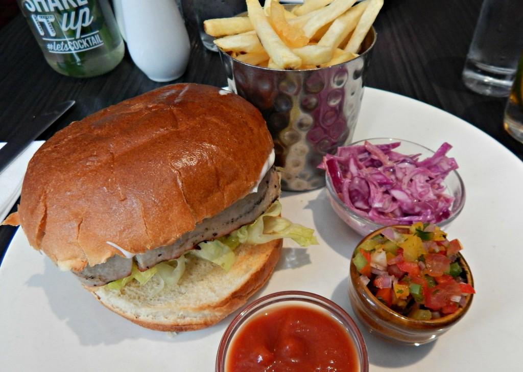 Chargrilled Tuna Steak Burger