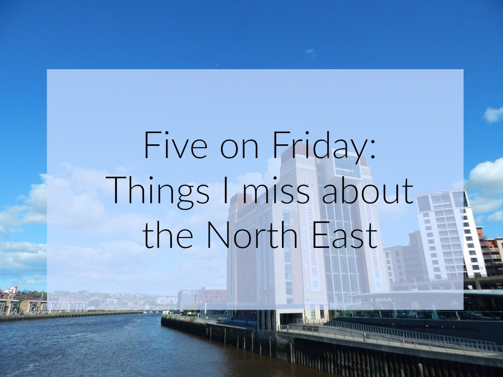 Things I miss in the North east Text