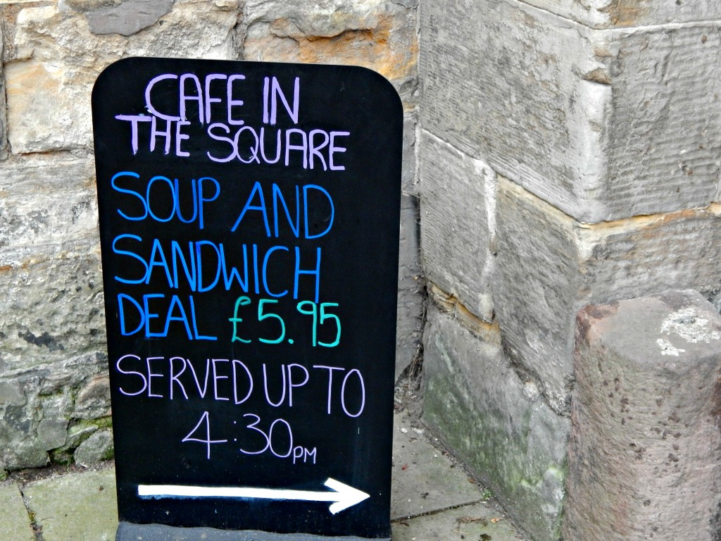 Cafe in the Square St Andrews