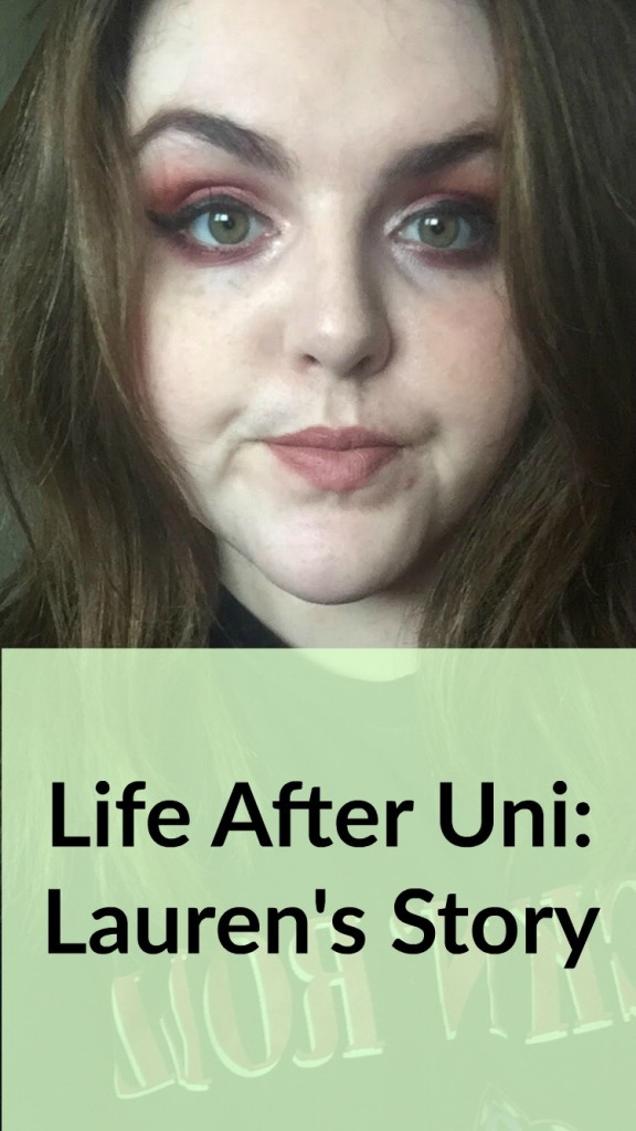 life after uni lauren