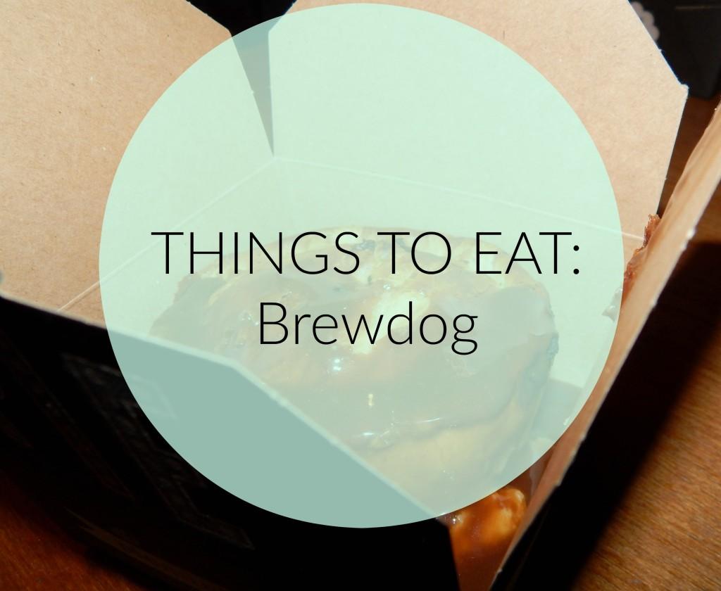things to eat brewdog