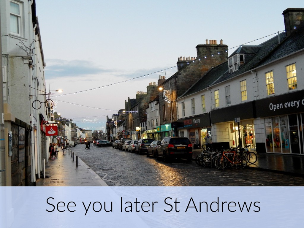 See you later St Andrews