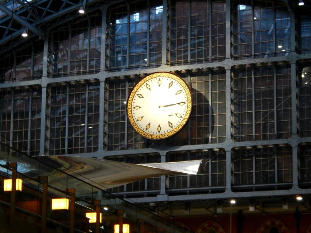 Pancras clock