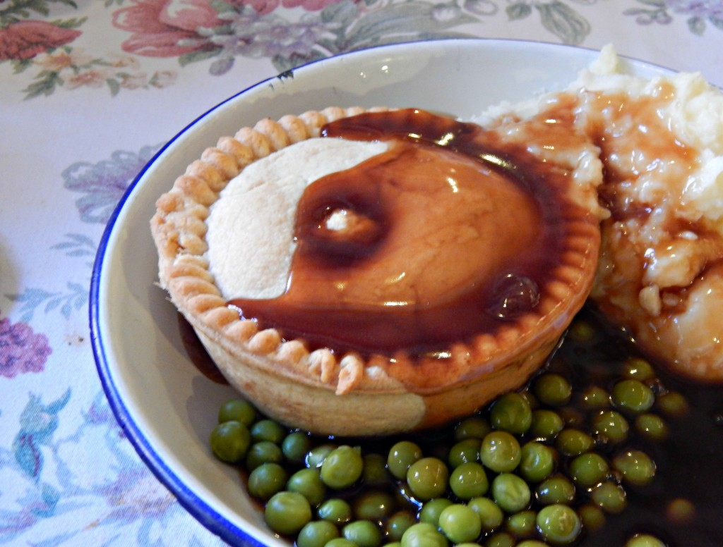 Whitby pie and mash