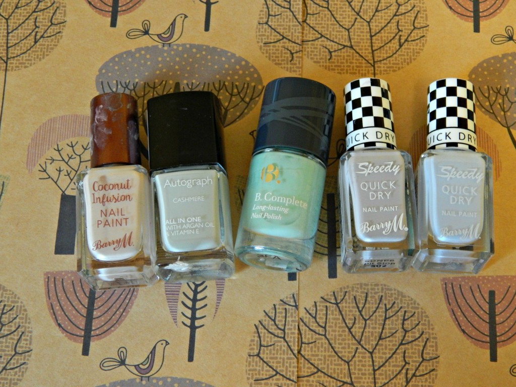 Fave Nail varnishes
