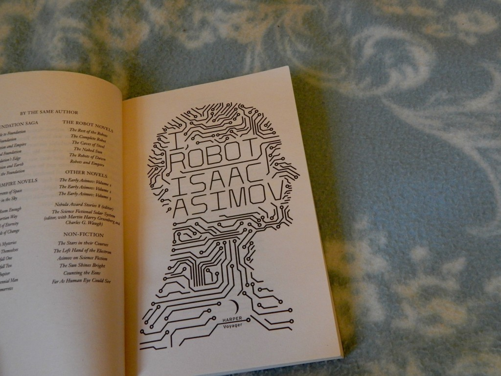 I robot book