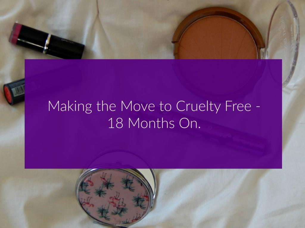 Cruelty free update