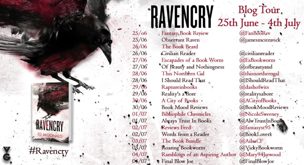 Ravencry blog tour banner